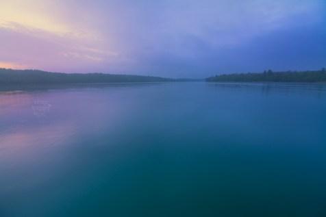 Foggy Sunrise at Cedar Lake