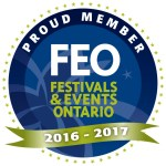 Proud member of Festivals And Events Ontario