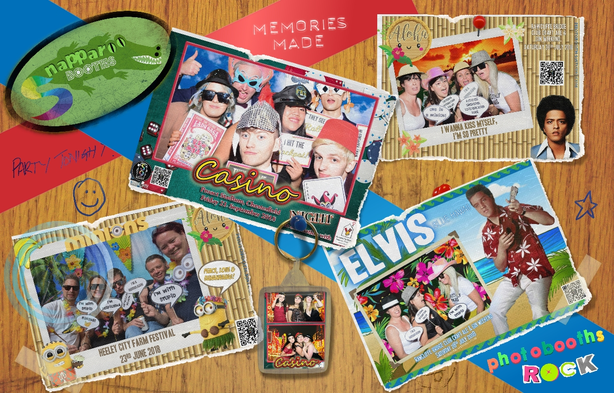 Snapparoo Booths - Making Memories, In A Snap!