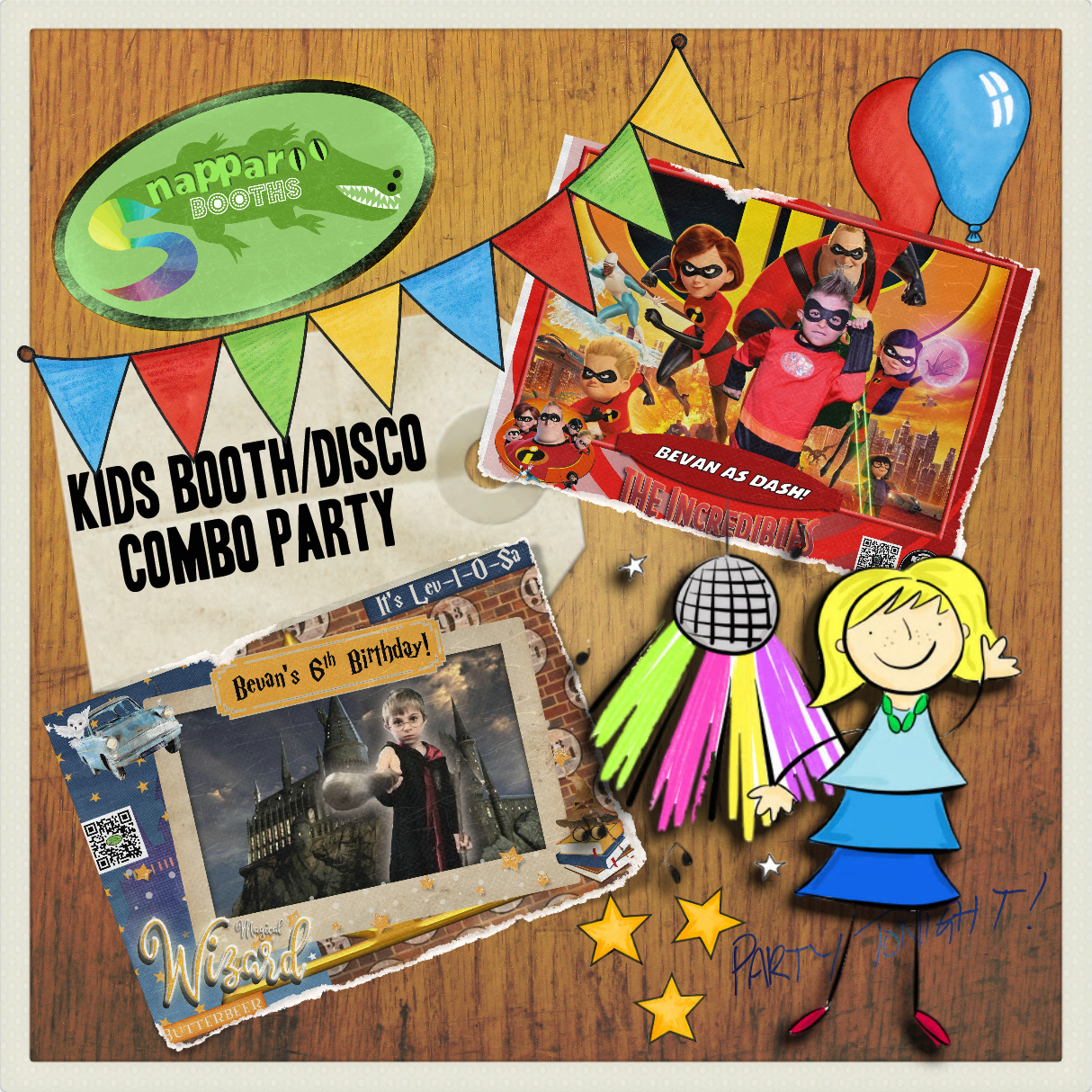 Kids Photo Booth Party Package