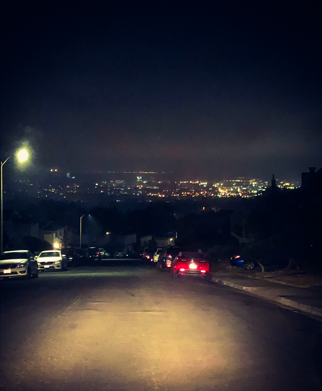 Night View of San Fran Skyline