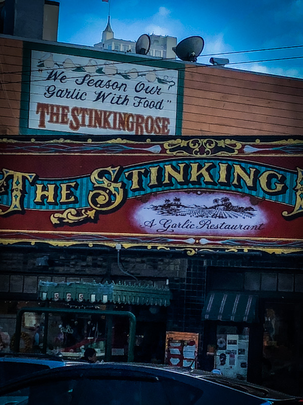 The Stinking Rose Restaurant in San Francisco