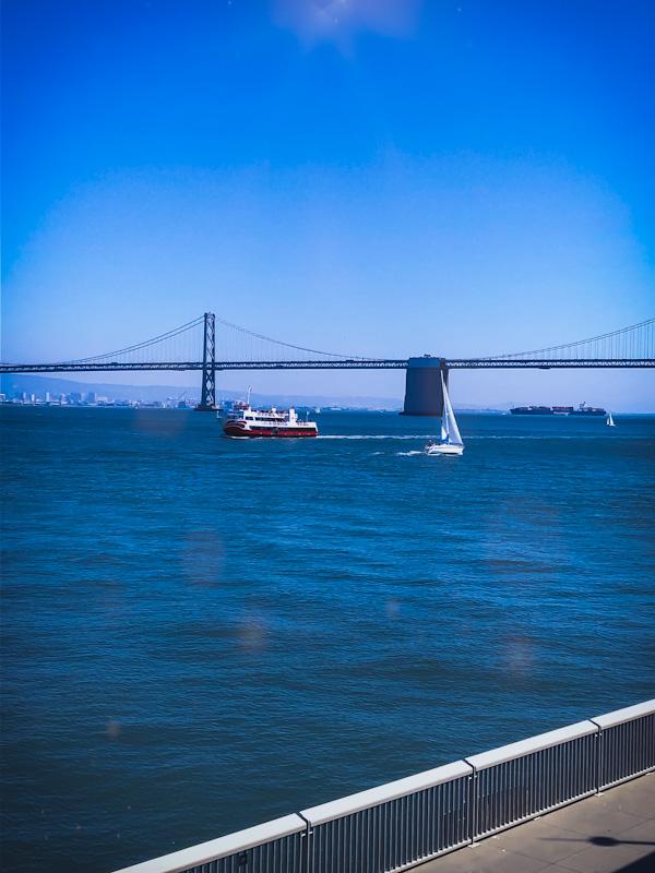 San Francisco Boats and Bridge