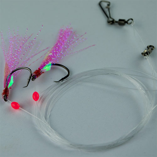 whiting rig, flasher rig, circle hook
