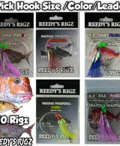 snapper snatchers,pre made rigs, flasher rigs, paternoster rig, pre tied rigs