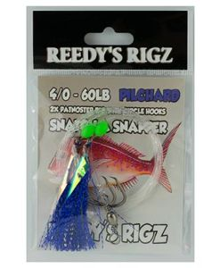snapper snatchers , flasher rig, pre made rigs, fishing rig,