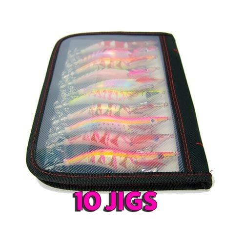 squid jig tackle bag