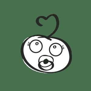 Alia babytøj logodesign