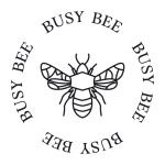 Logo til Methe Danefeldt Busy Bee