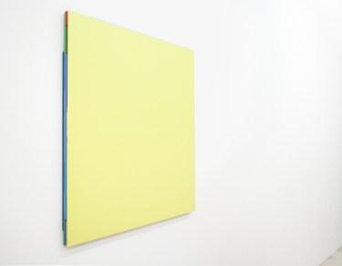 TILMAN Untitled. 2011, acrylic on aluminum, 110 x 95 x 2,5 cm / Sans titre. 2011, acrylique sur aluminium, 110 x 95 x 2,5 cm