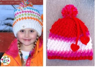 Free Pattern: Jelly Bean Slouch Hat