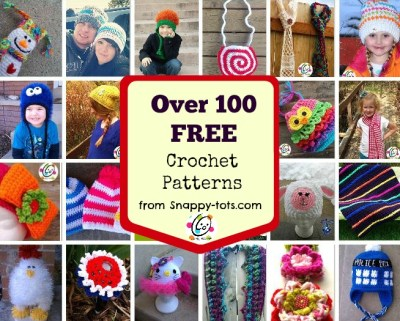 Free crochet patterns to make for the entire family.