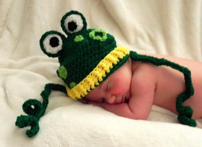 Free Pattern: Frog Hat