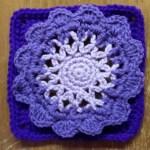 Free Pattern: 6 Inch Crochet Square