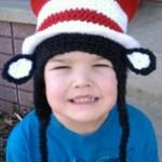 Pattern: Striped Top Hat
