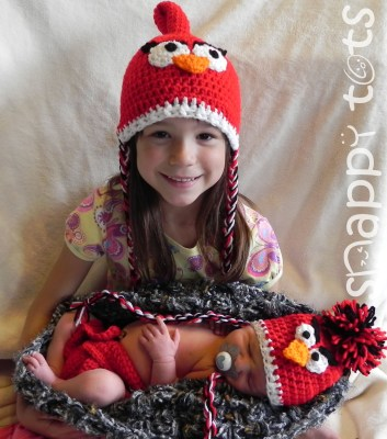 Free Pattern: Baby Bird Set