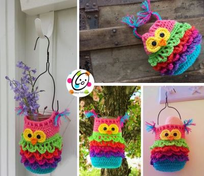 Bonbon the owl crochet pattern by snappy tots.