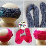 Free Pattern: Button Up Headband