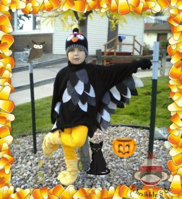 Fab Find: Black Bird Costume is THE BOMB!