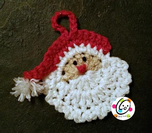 Free santa crochet pattern.