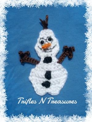 "Kody's ""No Man"" ornament from Trifles N Treasures."