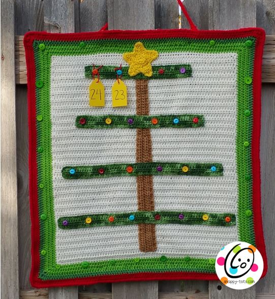 Free crochet pattern: advent calendar