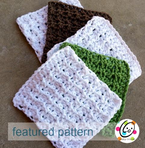 tiny towels free crochet pattern