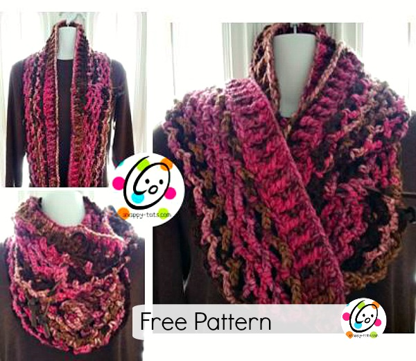 free inifinity scarf pattern