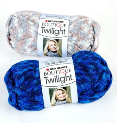 Red Heart Boutique Twilight yarn