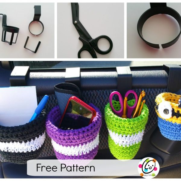 Free Pattern: Auto Caddy Bags