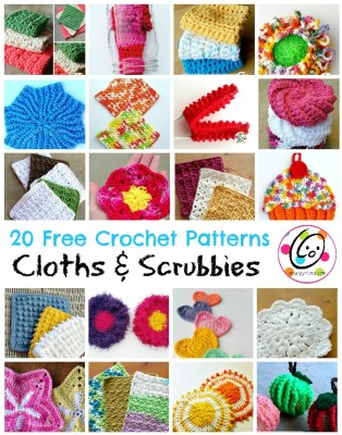 Top Picks: 20 free crochet cloth and scrubby patterns