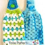 Free Pattern: Hanging Hand Towel