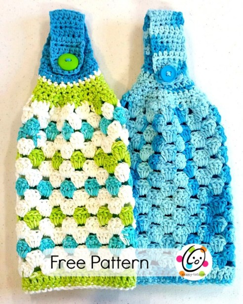 Free Pattern Hanging Hand Towel Snappy Tots