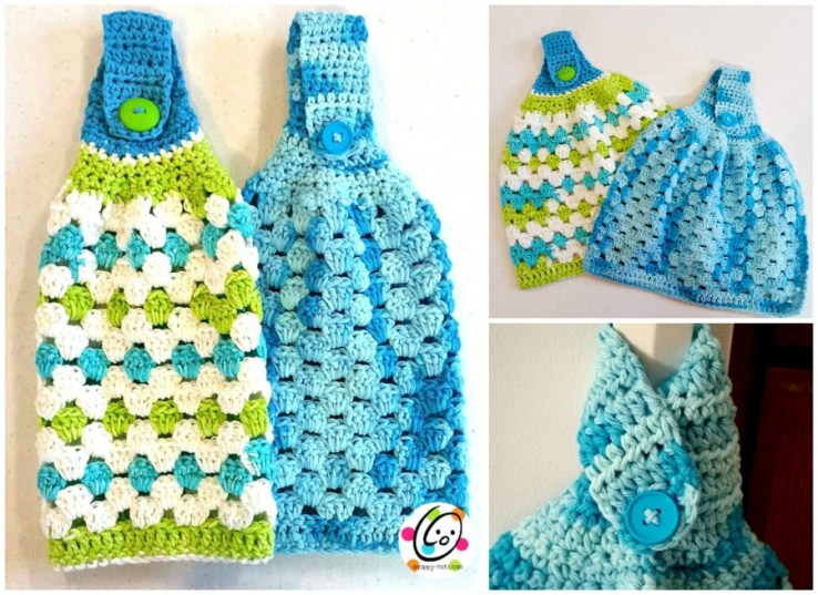 Free crochet dish cloth pattern from Snappy Tots