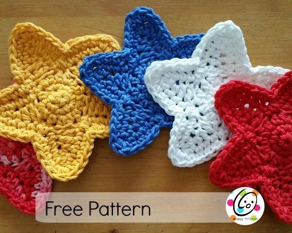 Free Pattern: Stars Swag
