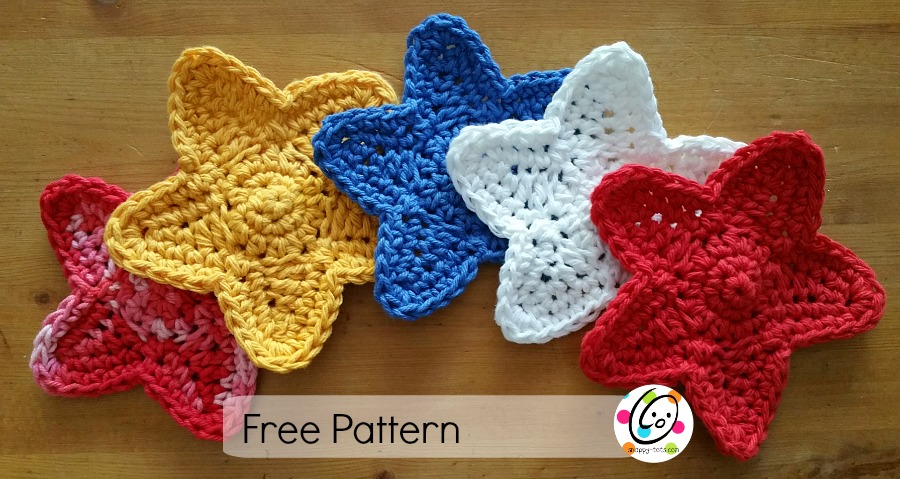 Free Pattern Stars Swag Snappy Tots