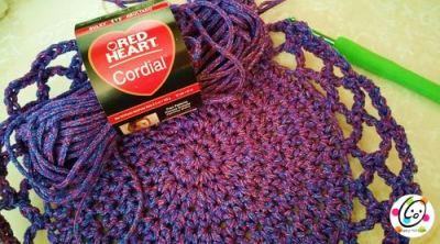 free crochet pattern using Red Heart Yarn