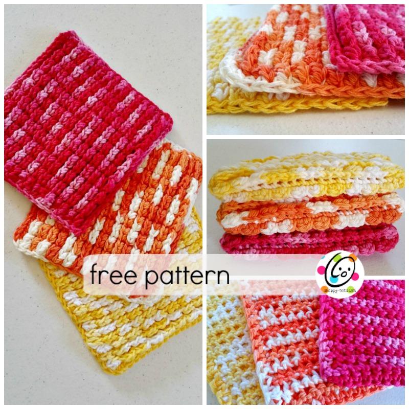 puffy waffles free pattern
