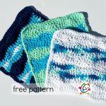 Free Pattern: Surf Wash Cloth