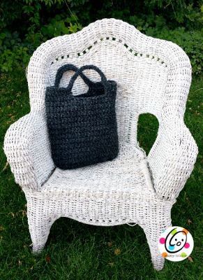 Featured Free Pattern: Amazing Big and Sturdy Tote ~ Snappy Tots