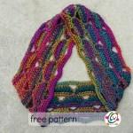 Free Pattern: Zoe Scarf