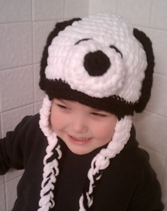 snoopy hat crochet pattern