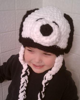 snoopy hat crochet pattern