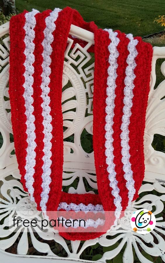 sparkling scarf free pattern