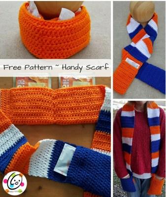 Free Pattern: Handy Scarf