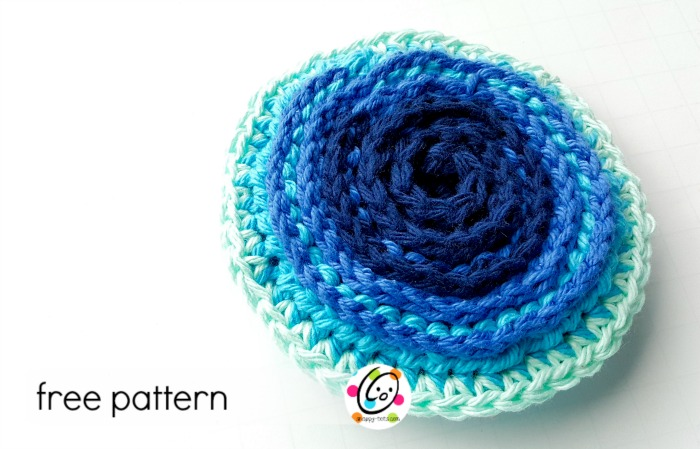 free crochet pattern: super scrubbies