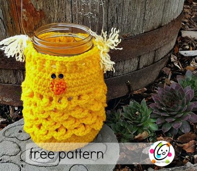 Free Pattern: Bonbon is a CHICK!