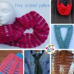 Free Pattern: Linked Heart to Heart Scarf and Cowl