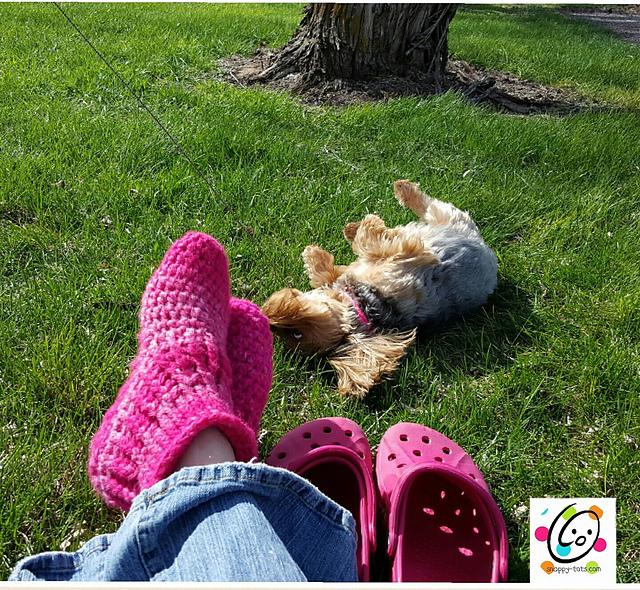 Happy feet pattern