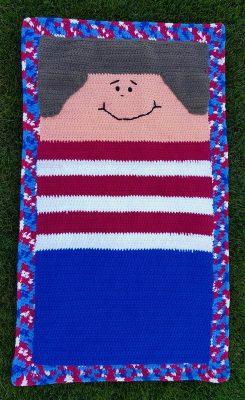Flat snappy crochet pattern